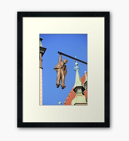 The Hanging Man at Olomouc Framed Print