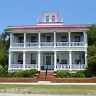 House of T M Thompson circa 1868 Southport North Carolina by MeMeBev