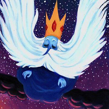 Sad King by starkthirdeye