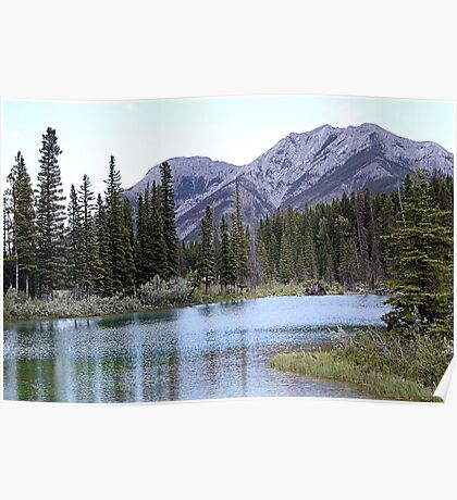 The Wedge & Wedge Pond Below Poster