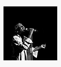 Jimmy Cliff (B&W) Photographic Print