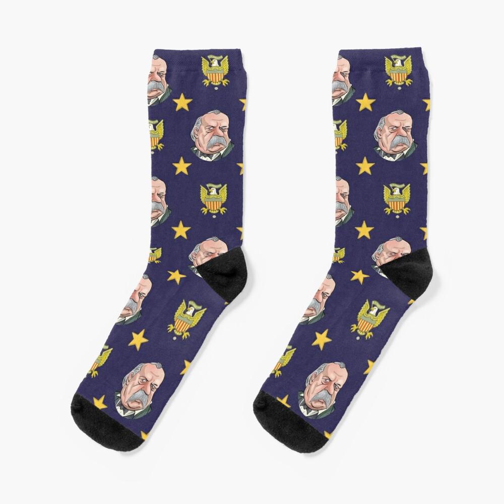 President Grover Cleveland Socks