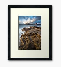 Elgol Light Framed Print