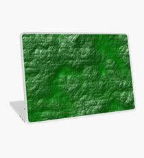 A Crumpled Green design for everything Laptop Skin