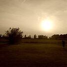 Lone Soccer Player by takemeawaycn