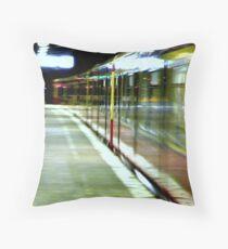 Ghostrider Train  Throw Pillow