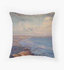 Irish Beach Throw Pillow