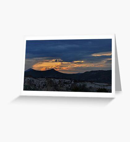 Sunset in Cappadocia #2 Greeting Card