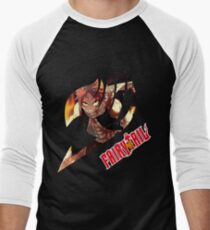 Natsu Dragneel  Men's Baseball ¾ T-Shirt