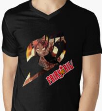 Natsu Dragneel  Men's V-Neck T-Shirt