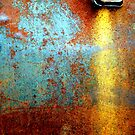 Rusted Water Stain by Robert Goulet