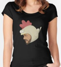 The Man who Sold the World Women's Fitted Scoop T-Shirt