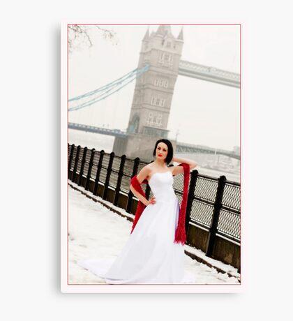 By Tower Bridge Canvas Print