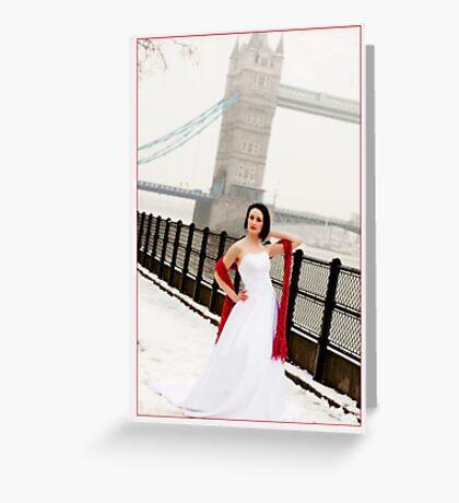 By Tower Bridge Greeting Card
