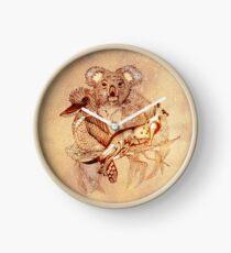 Australian Wildlife Clock