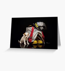 Rescued Greeting Card