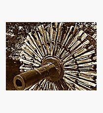 Mill Wheel Photographic Print