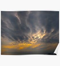 Clawing Clouds Poster