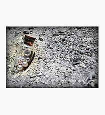 The smallest amount of hope Photographic Print