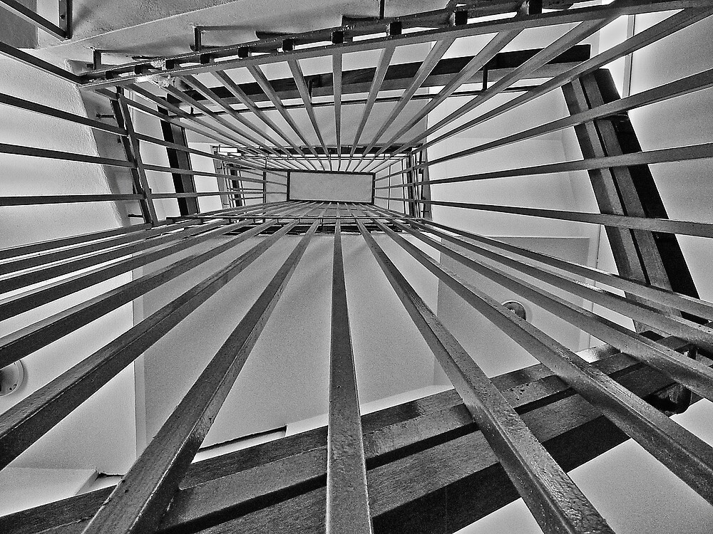 Internal Stairs Take Two by Sharon Brown