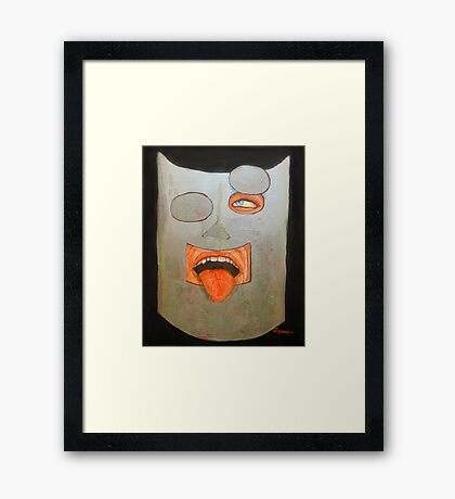 """You asked me; """"How did it make me feel?"""" Framed Print"""