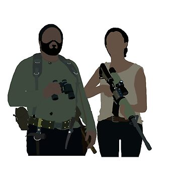 Sasha and Tyreese - The Walking Dead by mashuma3130