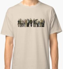 The Walking Dead Cast Classic T-Shirt
