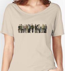 The Walking Dead Cast Women's Relaxed Fit T-Shirt