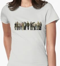 The Walking Dead Cast Women's Fitted T-Shirt
