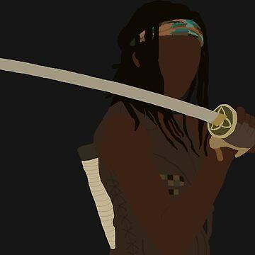 Michonne - The Walking Dead by mashuma3130