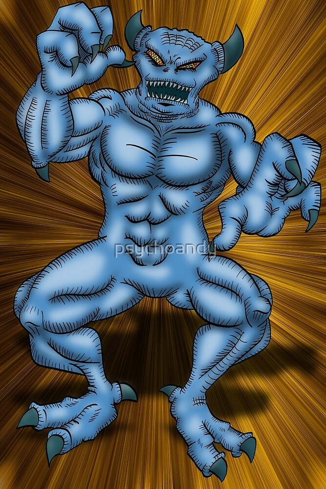 Blue Demon by psychoandy