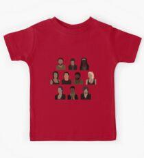 The Walking Dead Cast - Minimalist style Kids Clothes