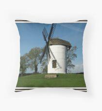 Ashton Windmill, at Chapel Allerton. Throw Pillow