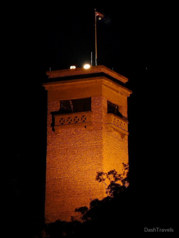 Rocky Hill by night, Goulburn, NSW by DashTravels