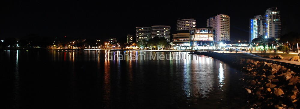 Tweed Lights from Jack Evans Boat Harbour by Graham Mewburn