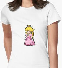 Princess Peach Women's Fitted T-Shirt