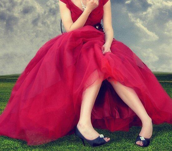 Il Vestito Rosso... by Carol Knudsen