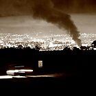 Belfast Burning by Philip Bateman