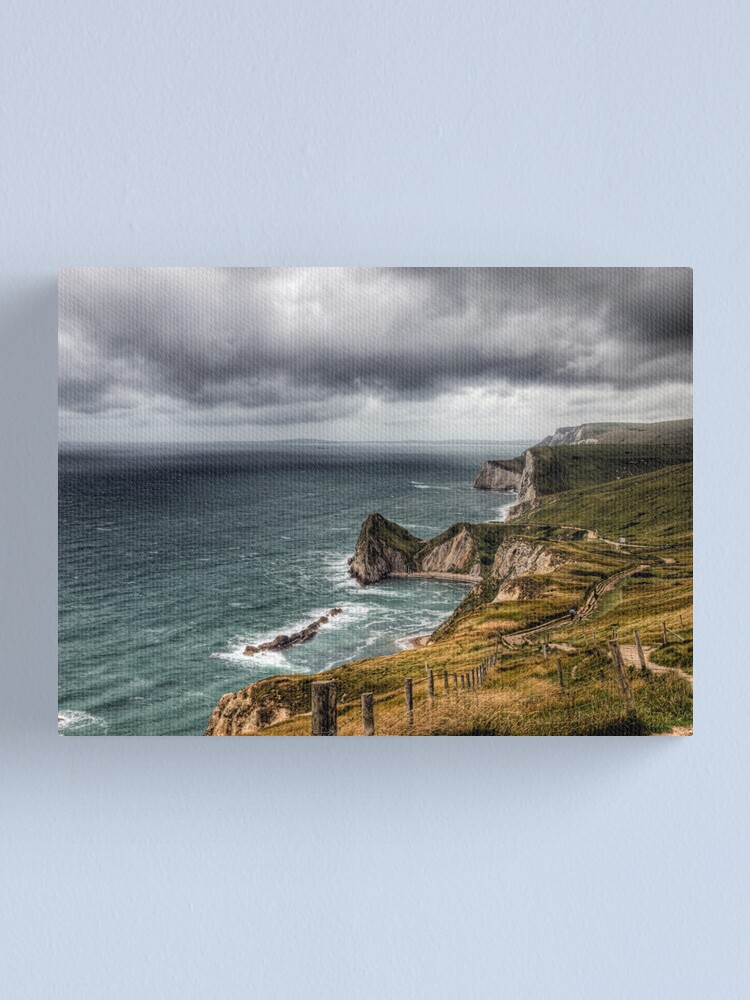 Alternate view of Dorset Jurassic Coastline Canvas Print