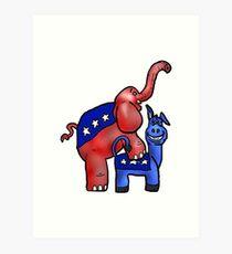Political Party Art Print