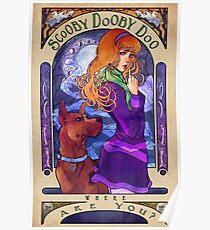 Scooby Dooby Mucha Poster