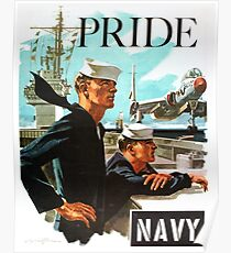 NAVY PRIDE ~ Recruiting Poster ~ War ~ 0539 Poster