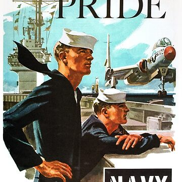 NAVY PRIDE ~ Recruiting Poster ~ War ~ 0539 by ContrastStudios
