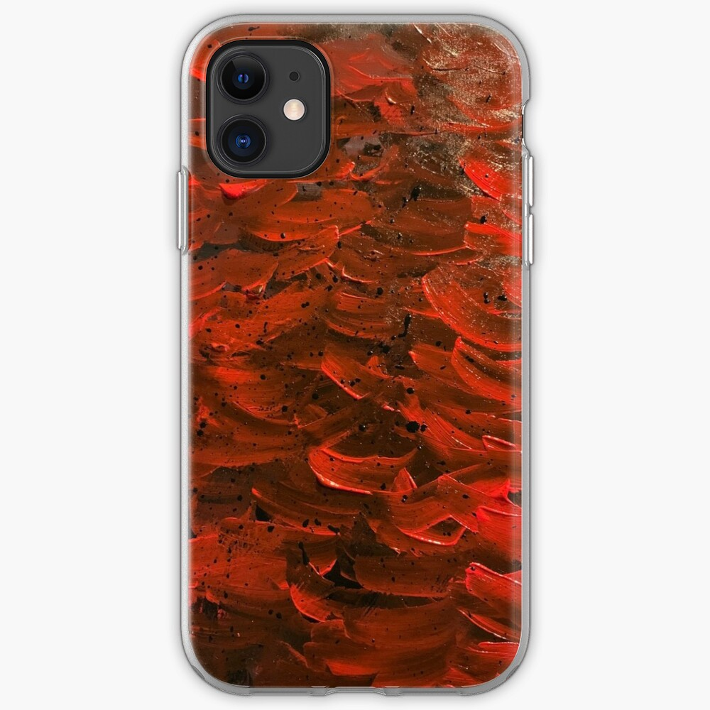 Red Hot Waves iPhone Case & Cover