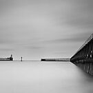 Blythe piers by Michael Ridley