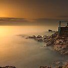 Roker dawn steps by Michael Ridley