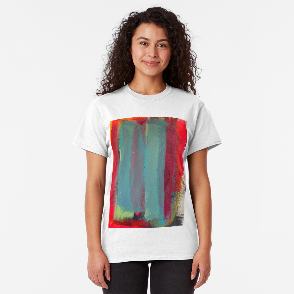 Neon Stripes  Classic T-Shirt
