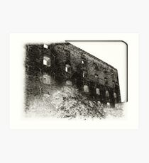Collapsed Building III Art Print