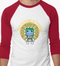 Captain Little Big Planet Men's Baseball ¾ T-Shirt