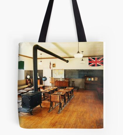 No. 14 Schoolhouse (Petrolia Discovery) Tote Bag